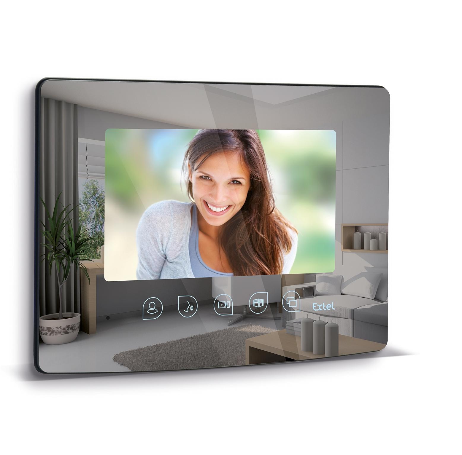 Visiophone Extel 11cm couleur noir Lena 11.3 EX720211 Visiophone Extel