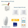 KIT DOMOTIQUE SOMFY FILAIRE RTS - PACK CLASSIC