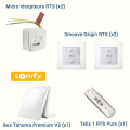 KIT DOMOTIQUE SOMFY FILAIRE RTS - PACK CONFORT +