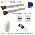 KIT DOMOTIQUE SIMU RADIO - PACK CONFORT +