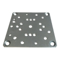 PLAQUE SUPPORT 100X100  ep 2.5 UNIVERSELLE
