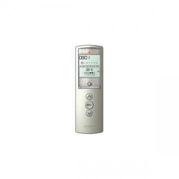 TELIS 6 CHRONIS RTS SILVER Reference SY1805210 Commande Somfy Radio RTS SOMFY