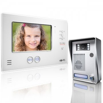 VISIOPHONE V200 BLANC INTERPHONE VIDEO SOMFY