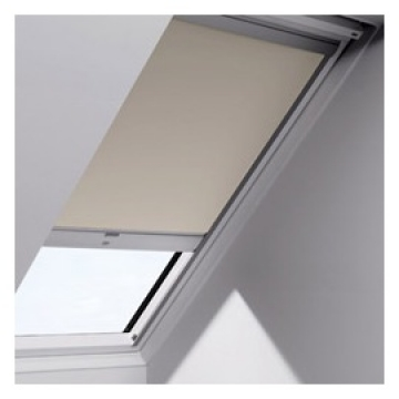 STORE VELUX OCCULTATION SOLAIRE S08 114X140 BEIGE Reference VXDSLS081085 Store occultant à énergie solaire VELUX