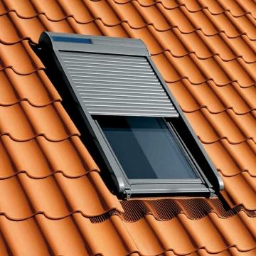 Croissant Volet Roulant complet VELUX solaire SSL pour fenêtre MK04 CO-52