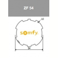 Visuel 2 ROUE + COURONNE ZF 54 (D50) (lot de 10) Reference SY9001466 Adaptations Somfy SOMFY