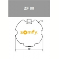 Visuel 2 ADAPTATION ROUE + COURONNE ZF80 (D50) Reference SY9001474 Adaptations Somfy SOMFY
