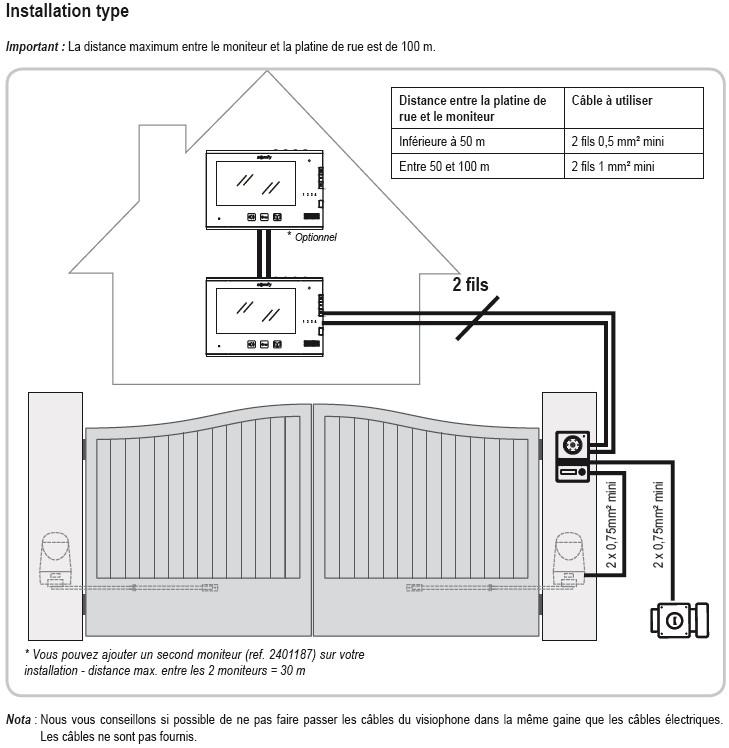 visiophone v400 miroir interphone vid o somfy sy2401281. Black Bedroom Furniture Sets. Home Design Ideas