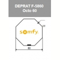 Visuel 3 ROUE + COURONNE IMBAC OCTO 60 (D50) Reference SY9410332 Adaptations Somfy SOMFY