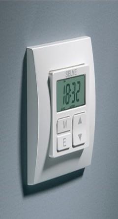 Interrupteur Programmable Volet Roulant.Horloge Smart Timer Plus Mural Filaire Programmable