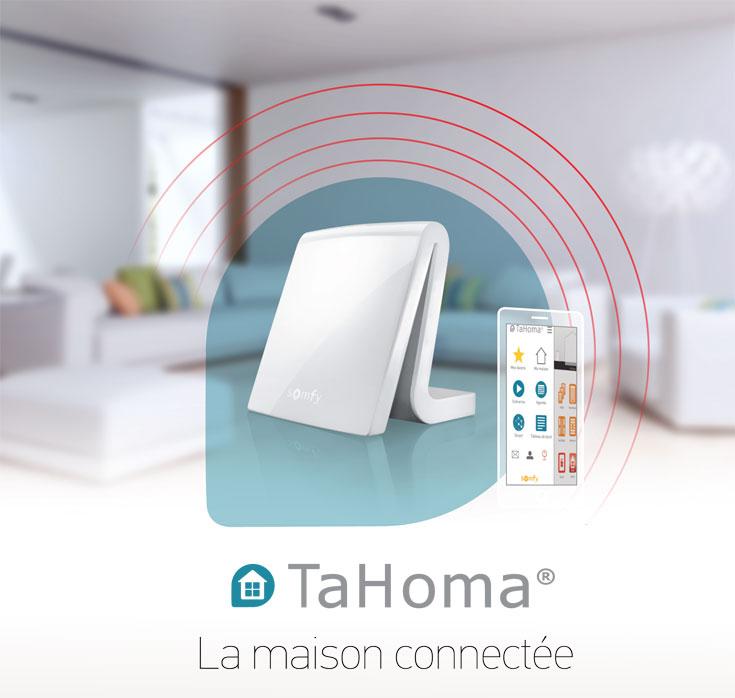 Tahoma Box Somfy Premium V2 Sy1811478 Commande Somfy Radio Io
