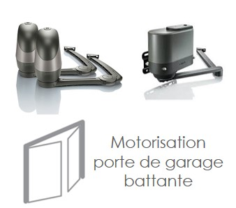 Moteur porte de garage beautiful pour porte de garage ou for Motorisation porte de garage battante
