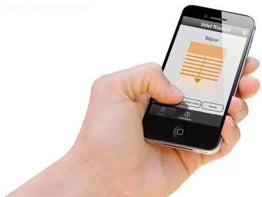 Volet roulant smartphone
